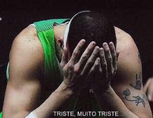TRISTE, MUITO TRISTE...